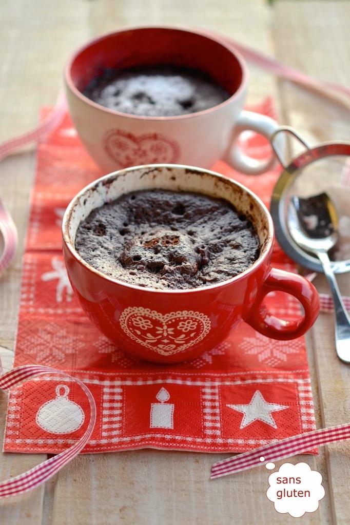 ○ { Mug cake au chocolat à IG Bas ... osez les gourmandises ! } ○