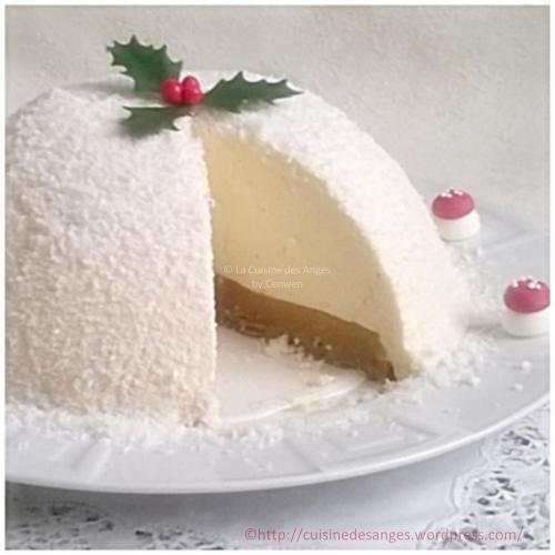 ecette de Noël petit budget, bûche à la confiture de lait, pommes au caramel et pain d'épices