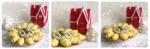 recette économique et facile pour l'apéritif, croissants en pâte feuilletée, garnis de roquefort, noix et abricots secs