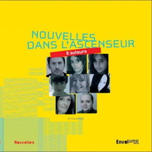 """Couverture du livre """"Les Nouvelles de l'Ascenceur"""" aux Editions Envolume"""