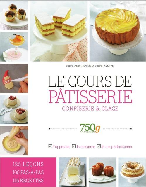 Livre de cuisine, Le Cours de Pâtisserie du site 750g