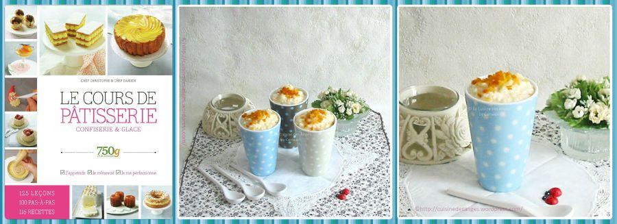 recette facile et traditionnelle du riz au lait avec des zestes d'oranges et de pamplemousse