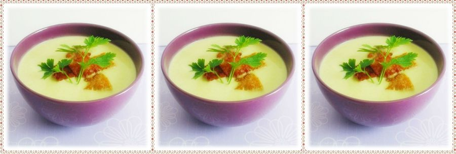 Soupe aux Poireaux et Pommes deTerre