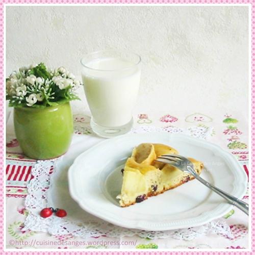 recette pour fins de mois difficile, tarte limousine aux pommes avec de la vanille et des zestes de citron