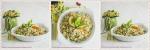 Recette d'entrée facile et économique, salade de boulgour au céleri, abricots secs, amandes et citron vert