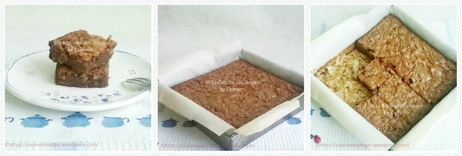 recette de base du brownie au chocolat au lait avec des noisettes