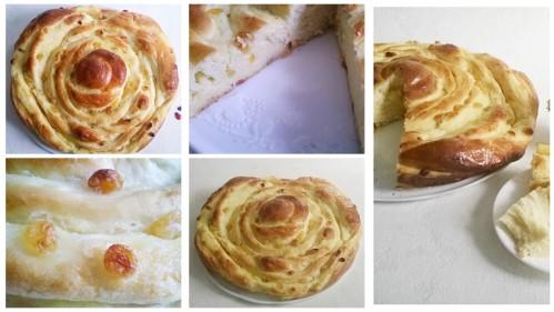 recette de pains aux raisins comme à la boulangerie