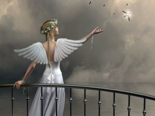 Ange et espoir