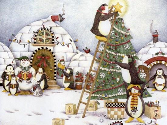 illustration pour Noël