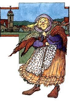 Illustration tirée de l'Encyclopédie des Fées de Pierre Dubois