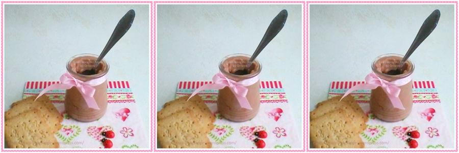 Recette vegan, végétalienne de crème au chocolat sans lactose et sans oeuf